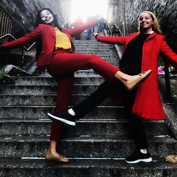 Tangga tempat Syuting Joker Menjadi Objek Wisata