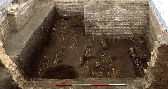 Tempat pemakaman abad pertengahan kuno ditemukan