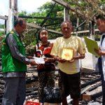 Baznas Bone berikan bantuan kepada korban kebakaran yang sangat membutuhkan uluran tangan