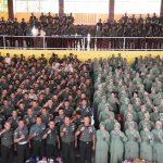Sosialisasi Penggunaan Media Sosial Kepada TNI, PNS dan Persit KCK jajaran korcab rem 141 PD XIV/ Hasanuddin