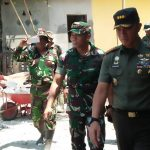 Danrem 141/Tp Kolonel Inf Suwarno S.I.P Tinjau Lokasi TMMD di Pangkep