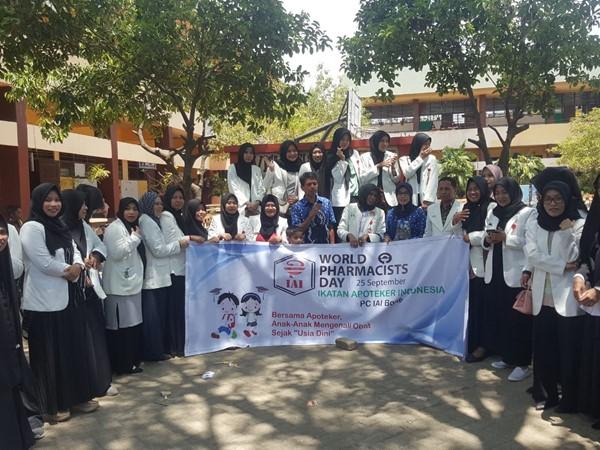 Asosiasi Apoteker Indonesia Gelar Sosialisasi Apoteker cilik dalam rangka World Farmacist Day 2019