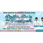 Tablig Akbar dalam rangka Hari Santri Nasional di Kabupaten Bone