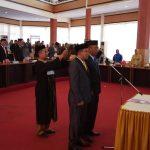 Bupati Bone hadiri Pelantikan Ketua Dan Wakil Ketua DPRD Bone Periode 2019-2024