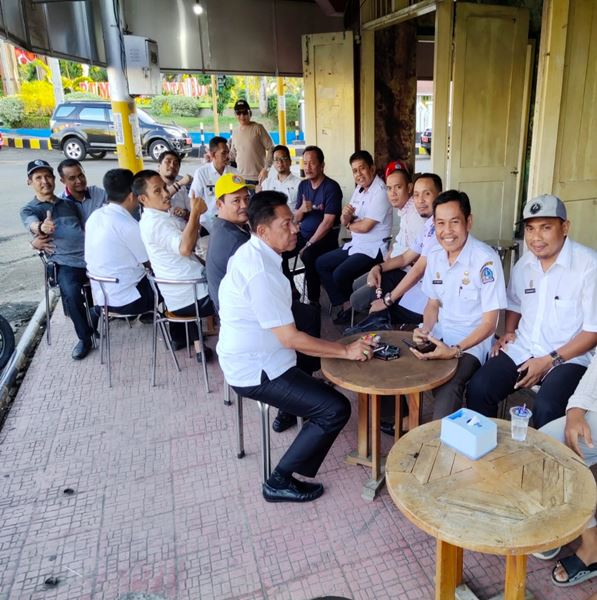 Jelang Sulsel Expo 2019, Camat Se Kabupaten Bone Ngopi Bersama