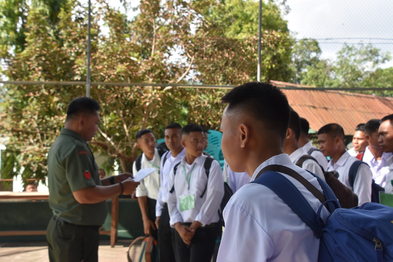 46 Calon Tamtama PK TNI AD Gelombang II 2019 Mengikuti Seleksi Tingkat Pusat