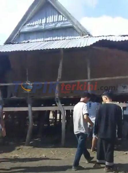 Diduga Beda Pilihan di Pilkades, 1 Unit Rumah di Bongkar di Jeneponto