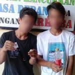 Lagi Asik NYABU, Dua Pemuda Diringkus Satres Narkoba Polres Bantaeng