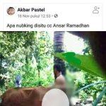 Posting Konten Porno, Akun Facebook Andi Ikki pakki Akan di Laporkan
