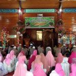 Peringatan Maulid Nabi Besar Muhammad SAW 1441H dan Syukuran HUT Brimob ke 74 di Mako Batalyon C Pelopor