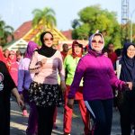Senam Sehat Bersama KWT Kartini NA Bone