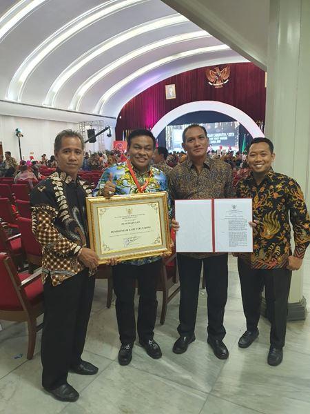 Kabupaten Bone kembali Meraih Penghargaan sebagai Kabupaten Peduli Hak Azasi Manusia dari KEMENKUMHAM