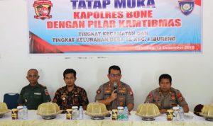 """Kapolres Bone gelar """"NGOPI MAS"""" Bersama Pilar Kamtibmas Se Kecamatan Libureng"""