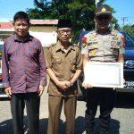 Sukses jaga Kamtibmas di Wilayah Hukumnya, Kapolek Bajeng Dapat Reward dari Tokoh Masyarakat