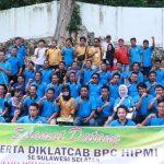 Pengukuhan Diklatcab Bersama BPC HIPMI Sulawesi Selatan di Bone