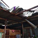 Angin Puting Beliung Menerjang 2 Desa/kelurahan di Bone dan mengoyak 6 Rumah Warga