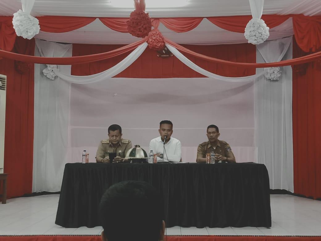 Bersama Kadis Pertanian, Kanit Ekonomi Polres Bone Gelar Pres Release Terkait Bibit Bantuan yang di Amankan