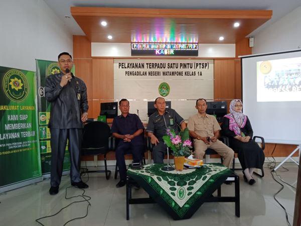 Press Release, PN Watampone Tangani 811 Kasus sepanjang tahun 2019