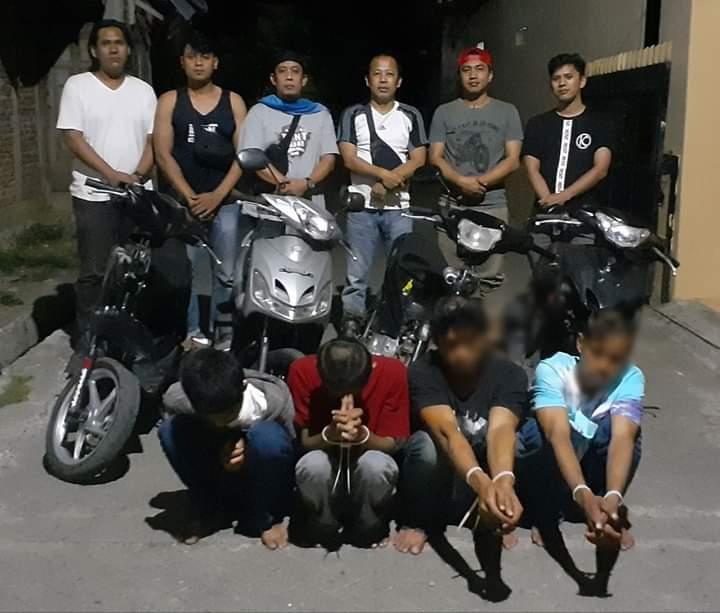 Lakukan pencurian di berbagai tempat, 4 Spesialis Curanmor di Ciduk Polisi 3 diantaranya masih Buron