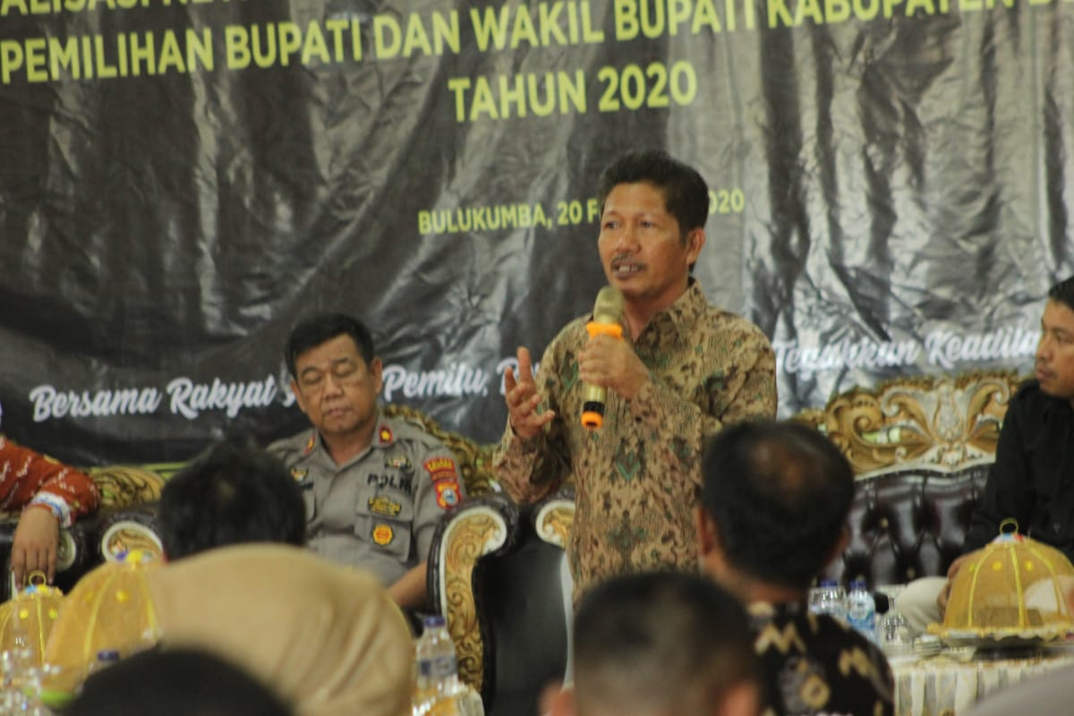Saiful Jihad Ingatkan Pentingnya ASN Menjaga Netralitas dalam Pemilihan
