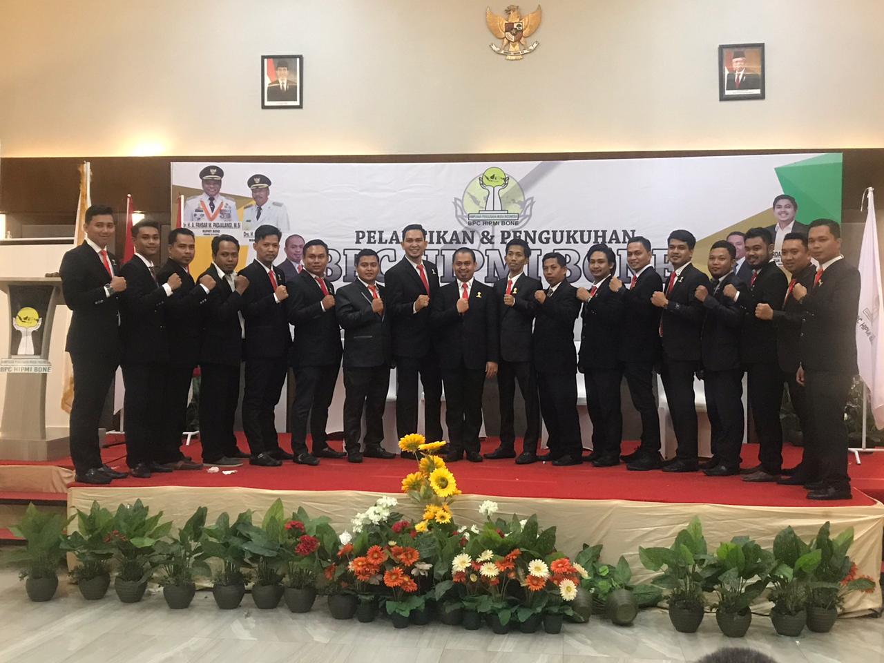 BPC HIPMI Kabupaten Bone Resmi Dilantik