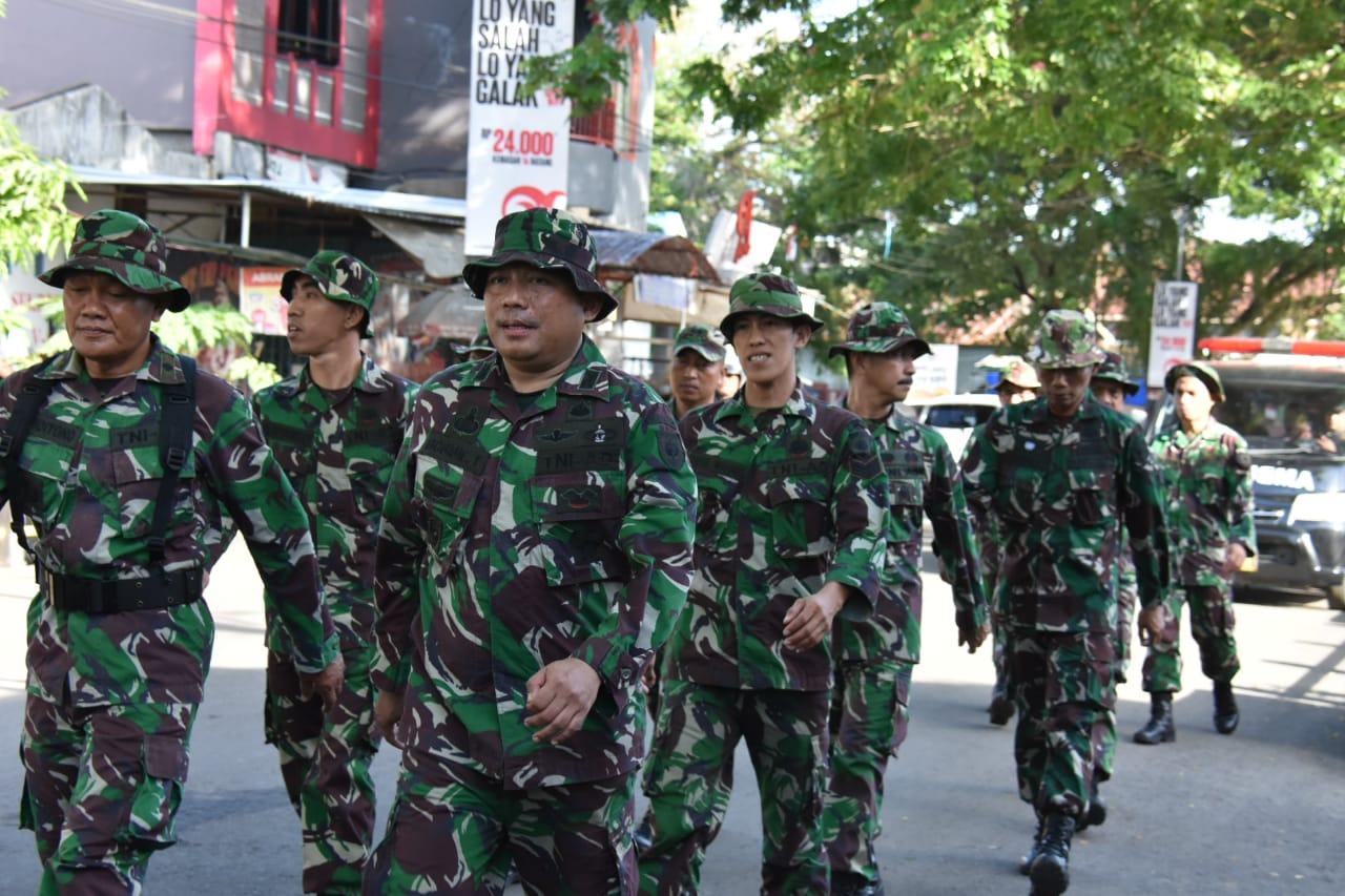 Ratusan Prajurit Korem 141 T/P Lakukan HanMars
