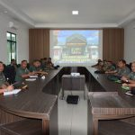 Kajian Strategi Dengan Tema Rapat Sumber Daya Buatan Dalam Mewujudkan Ruang Wilayah Pertahanan Darat