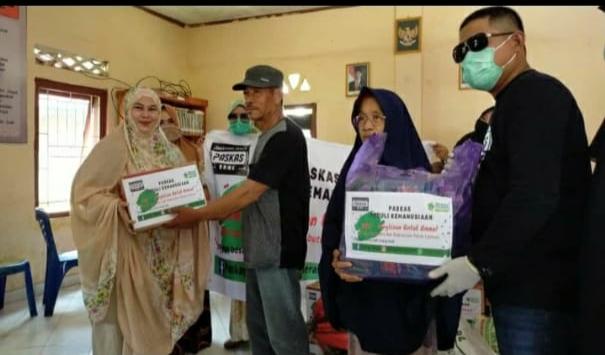 PasKas Bone Salurkan Bantuan Kepada Korban Puting Beliung