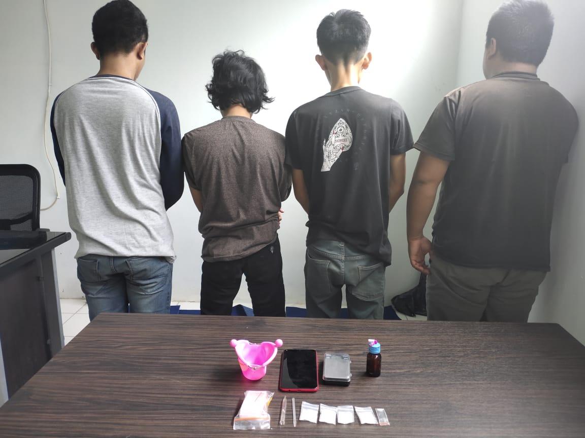 BNNK Bone Amankan 4 Tersangka Pelaku Penyalahgunaan Narkoba