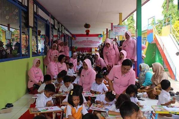 Yayasan Kemala Bhayangkari Bone adakan berbagai lomba dalam rangka HUT ke 40