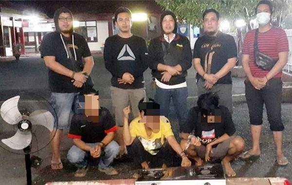 Bersama Penadahnya, 2 Pelaku CURAT di Bone di Ringkus Unit II Tim khusus Polsek Tanete Riattang