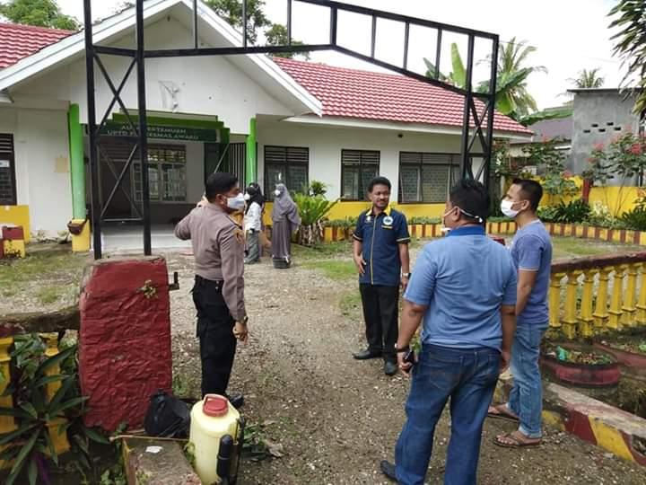 Forkopimda Kec Awangpone akan menyiapkan Tempat Karangtina bagi warga yang baru pulang