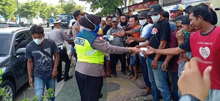 Kapolres Pelabuhan Makassar menghimbau masyarakat memperbanyak Ibadah dan senantiasa berdoa