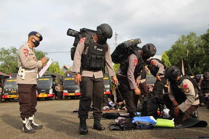 Antisipasi Situasi Kontijensi Covid-19, Brimob Batalyon C Pelopor Gelar Apel Kesiap Siagaan