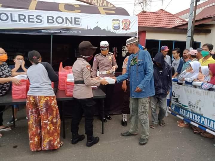 Polres Bone Buka Dapur Umum Selama Bulan Ramadhan