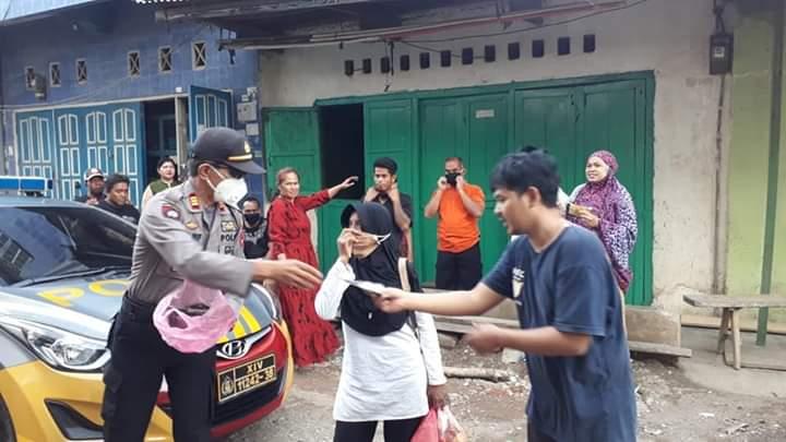 Kapolsek Tellu Siattinge Kunjugi Rumah Santri Al Fatah Temboro yang sedang menjalani Isolasi Mandiri