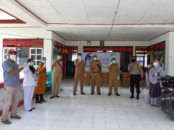 Promosi kesehatan kembali digelar oleh Puskesmas Binamu Kota sebagai bagian dari upaya memutus mata rantai penyebaran Covid-19