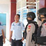 Cegah penyebaran Virus Corona, Brimob Batalyon C Pelopor Bone Rutin menggelar patroli