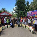 Bersama Warga, Pemerintah Desa Tanah Tengnga Lakukan Upaya Pencegahan COVID-19