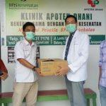 PDUI Jeneponto Terima Bantuan APD dari Aesculapius Makassar