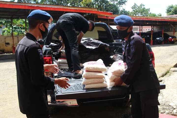 Terima Bantuan Dari Bupati Bone, Dapur Lapangan di Mako Brimob akan tambah kuantitas paket makanan buka puasa