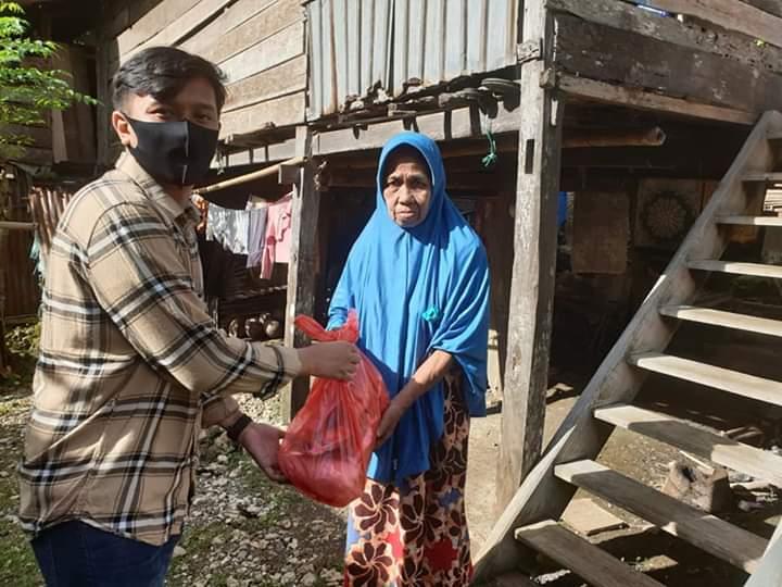 Anggota DPRD Provinsi Sulsel Andi Putra Batara Lantara Salurkan Bantuan Sembako Tahap III