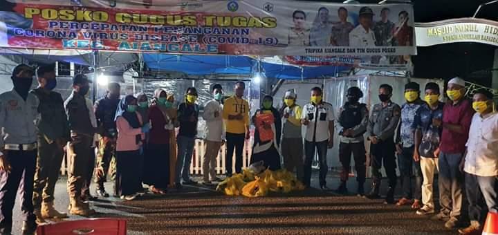Selesaikan Tur Kemanusiaan, Andi Rio Padjalangi Kunjungi Sejumlah Posko COVID-19 di Makassar