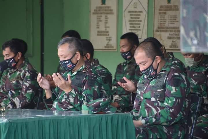 Danrem 141 Pimpin Jam Komandan dan Halal Bihalal