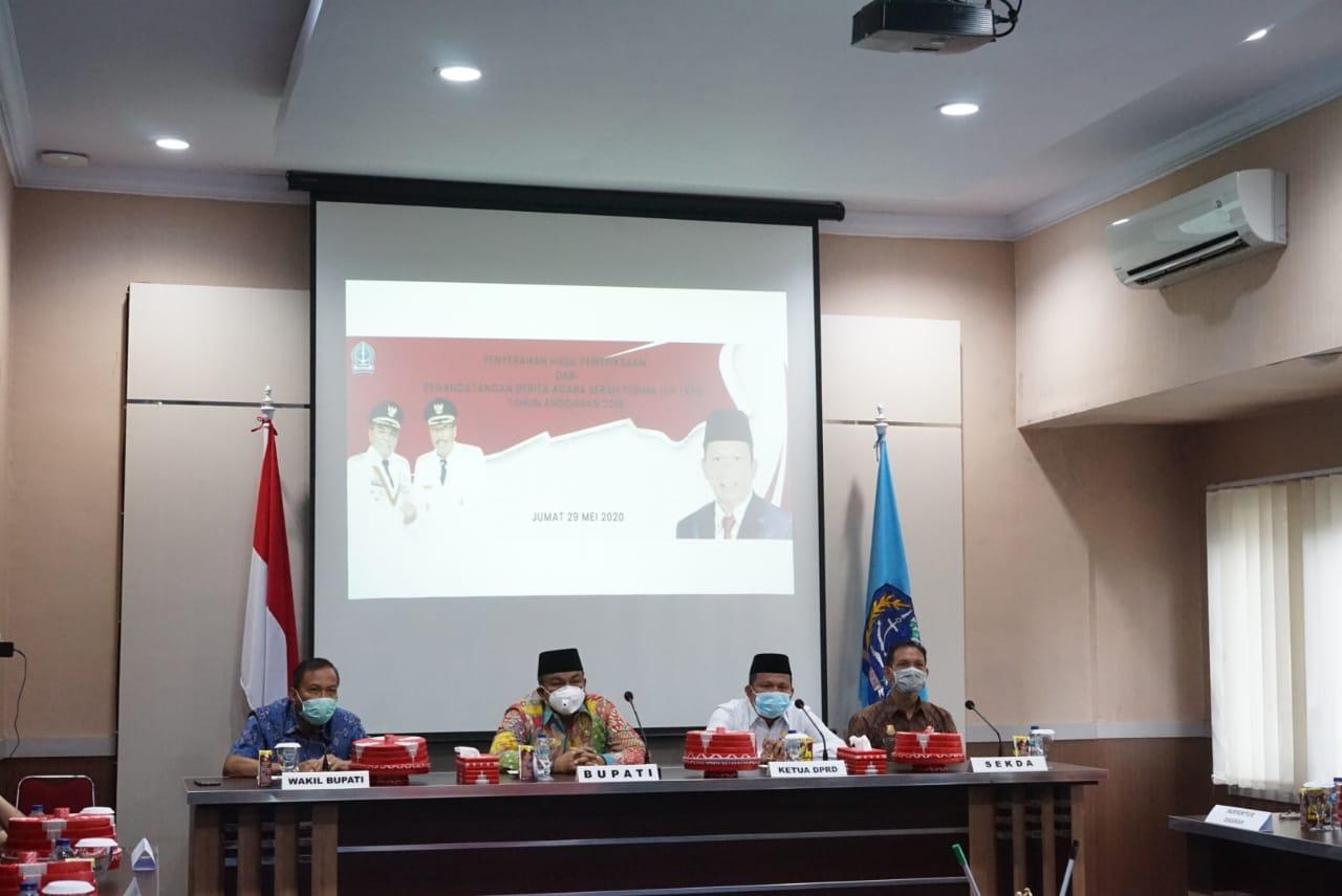 Kabupaten Bone kembali Merah Predikat WTP dari BPK Sulsel Untuk ke Lima Kalinya