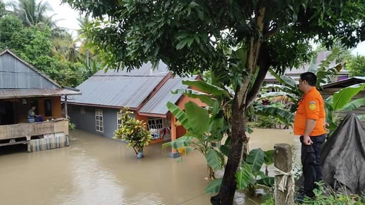 Hujan Sejak Jumat, Sejumlah Wilayah di Kabupaten Bone Terendan Banjir