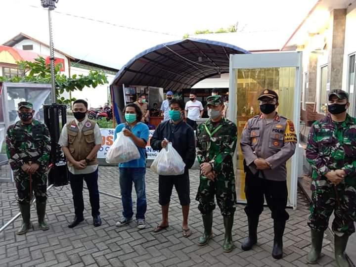 Pasca Banjir Bandang, Danrem 141 Lakukan Kunjungan Kerja di Bantaeng