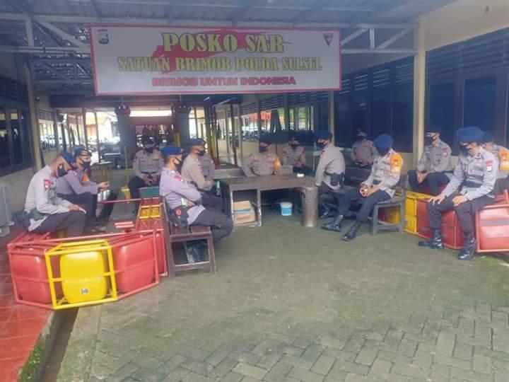 Antisipasi Bencana Alam, Batalyon C Pelopor Siagakan TIM SAR