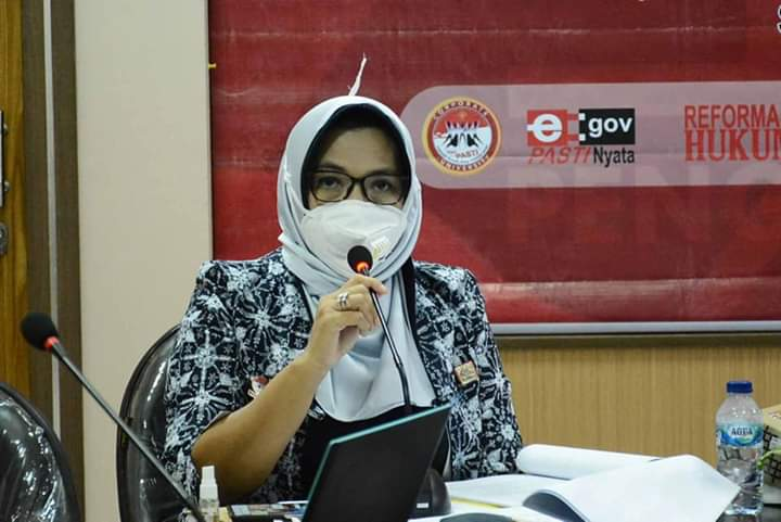 Kanwil Kumham Presentasikan Penyusunan Laporan Hasil Kajian Hukum dan HAM mengenai IPK/IKM dan Corporate University