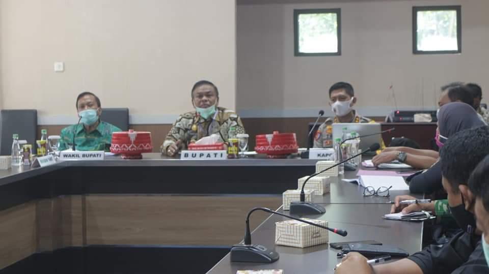 Bersama Pemnda, Polres Bone Bentuk Kampung Tangguh Nusantara (Wanua Pore'na Bone)